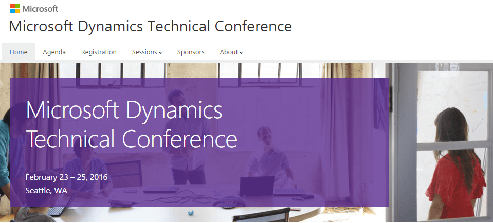 Microsoft Dynamics Technical Conference 2016 – Recordings available