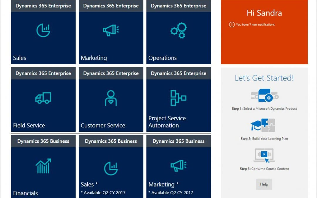 DLP update – Dynamics 365 training and Blitz recordings