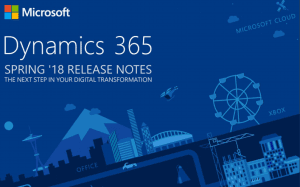 Dynamics 365 Spring 2018 release