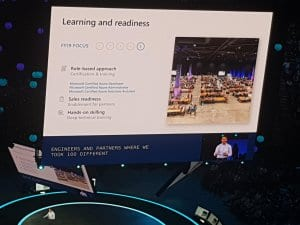 Microsoft Inspire 2018 Day 1 - Readiness and Learning