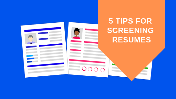 How to screen CVs for Microsoft Consultants
